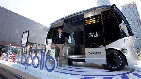 baidu s driverless tech to power walmart delivery ces
