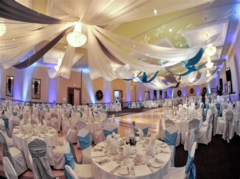 reception hall decor designs how to decorate a small