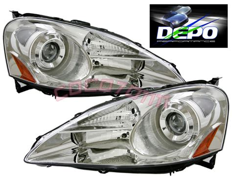 05 06 acura rsx dc5 projector light depo chrome ebay