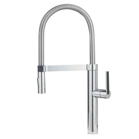 professional kitchen faucets home blanco culina semi pro single handle pull sprayer