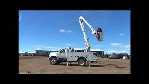 1995 Ford F800 Bucket Truck For Sale
