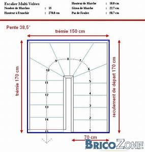 Escalier Double Quart Tournant Pas Cher : aide calcul escalier double quart tournant ~ Premium-room.com Idées de Décoration