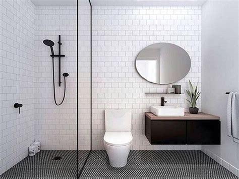 perfeksi desain kamar mandi visualisasi gaya minimalis