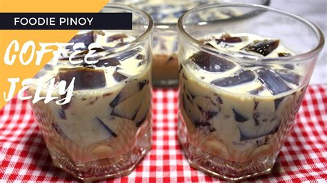 Gulaman) 4 grams nescafe instant coffee (i used 2 pcs nescafe stick/2 grams each) 1/2 cup sugar (if you like sweeter make it ¾. Coffee Jelly | Filipino Food Recipe | Foodie Pinoy - YouTube
