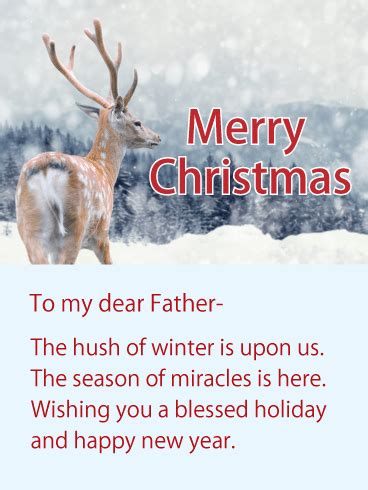 wishing   blessed holiday christmas wishes card