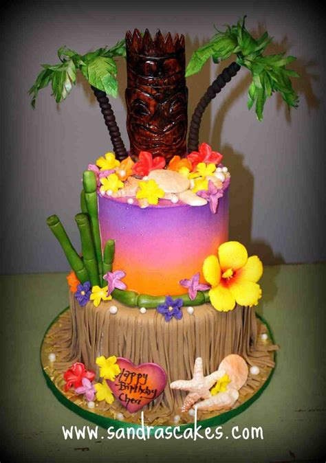 Hawaiian Cake Decorations by 281 Best Images About Hawaiian Luau Theme On Pinterest