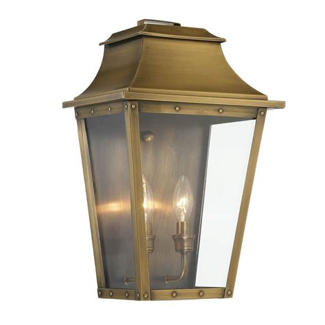 acclaim lighting coventry collection 2 light aged brass