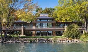 Modern, Lake, Home
