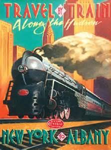 Vintage New York Central Train