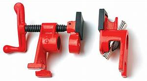 """Bessey """"H"""" Pipe Clamp - Lee Valley Tools"""