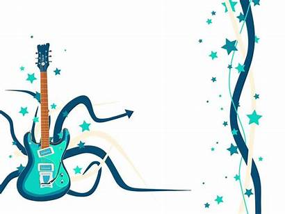 Guitar Song Background Country Clipart Musical Powerpoint