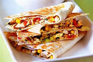 Apple Chicken Quesadilla Recipe Dishmaps
