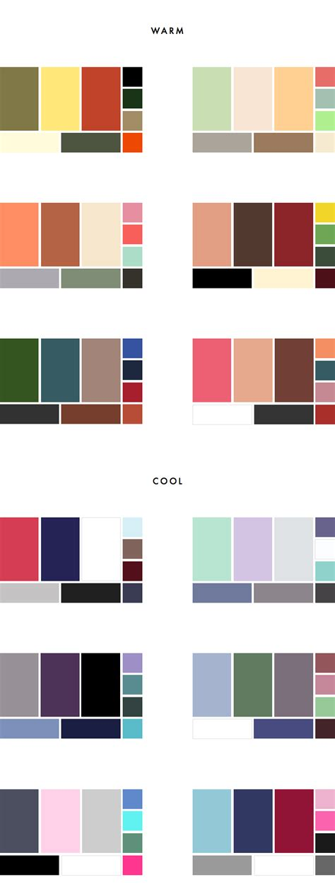 How To Choose A Colour Palette For Your Wardrobe (+ 36