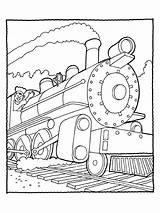 Train Coloring Diesel Printable sketch template