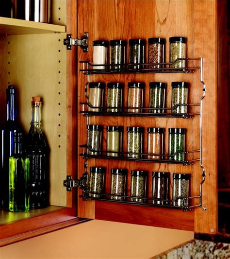 Wide Spice Rack by Kessebohmer Spice Rack 9 5 8 Quot Wide Chrome Finish 543 19