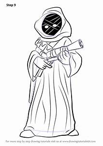 learn how to draw jawa from wars wars step by