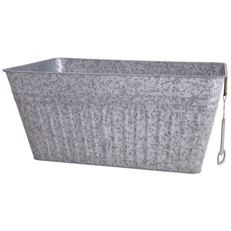 tubs at walmart better homes and gardens galvanized steel rectangular tub