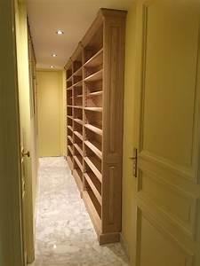 Bibliothèque Faible Profondeur : comment agencer le couloir d une maison ou d un appartement ~ Edinachiropracticcenter.com Idées de Décoration
