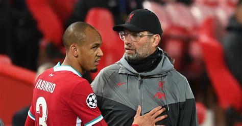 Liverpool boss Jurgen Klopp delivers Fabinho injury update ...