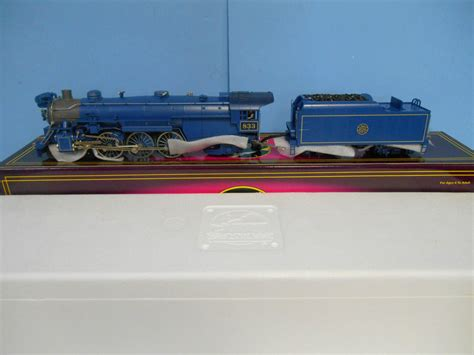 mth blue comet premier locomotive update     gauge railroading   forum