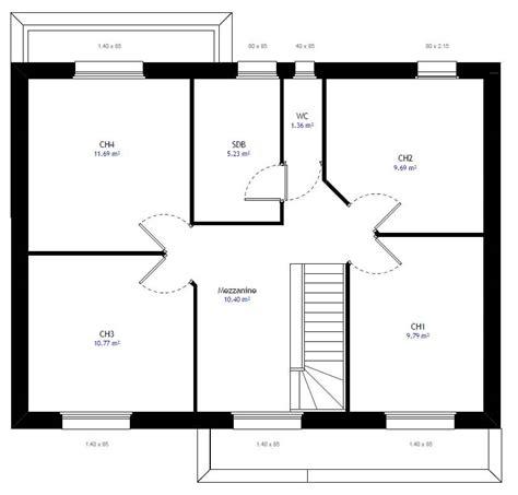construire sa cuisine plan maison individuelle 4 chambres 28 habitat concept
