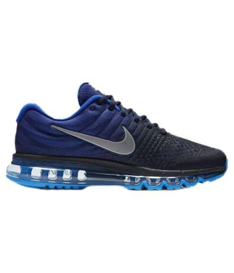 nike air max 2017 blue running shoes buy nike air max