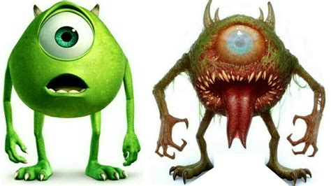 Cartoon Characters As Monsters