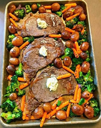 Steak Dinner Pan Sheet Lou Recipes Recipe