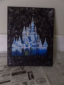 Disney, Acrylics and Canvases on Pinterest