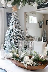 Farmhouse, Dining, Room, Christmas, Decorations