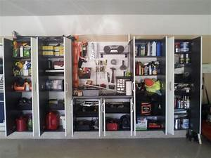 Flow Wall Storage Solutions - Contemporary - Garage And
