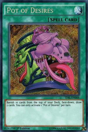 Maybe you would like to learn more about one of these? Pot of Desires   Yu-Gi-Oh!   Fandom powered by Wikia