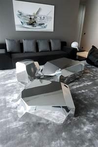 la table basse design en mille et une photos avec beaucoup With tapis moderne avec canape rapido chez but