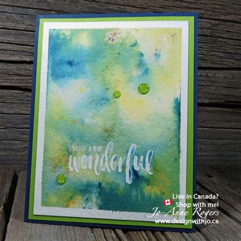 How to Emboss Brusho Crystal Watercolour Backgrounds ...