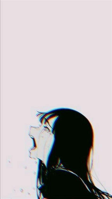 lonely sad art sad anime girl sad anime