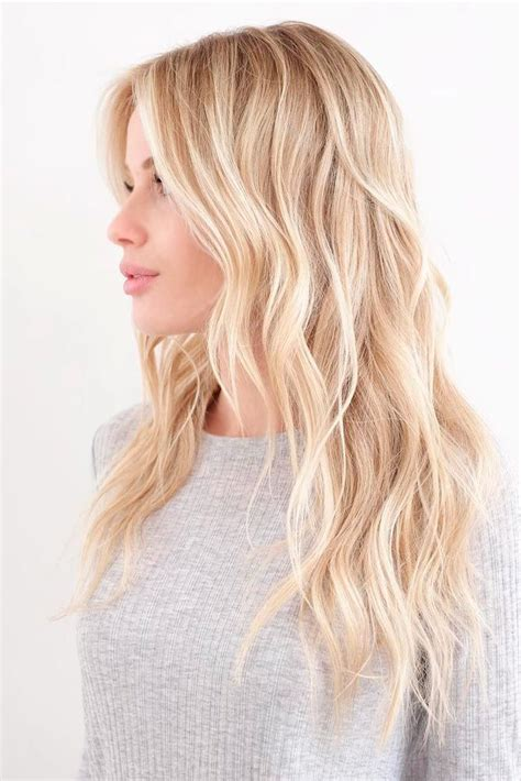 Golden Platinum Hair by The 25 Best Hair Colors Ideas On