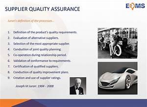 ISO 9001:2015 Supplier Management Transcript