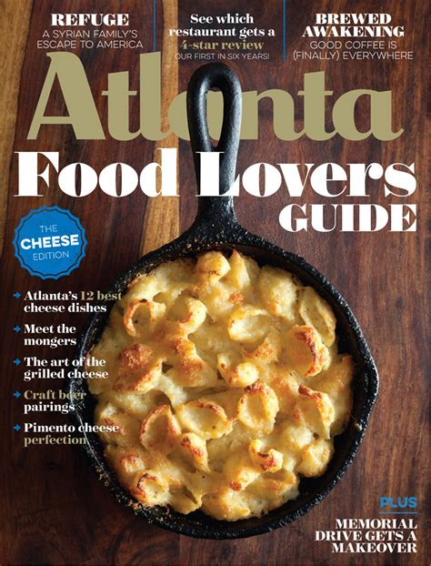 guide cuisine magazine recipe truffled gouda mac and cheese atlanta magazine