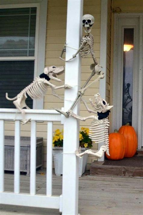 halloween front porch decorations hative