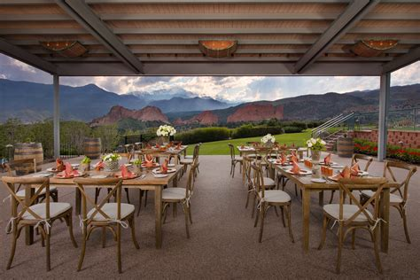 event catering co springs garden of the gods collection