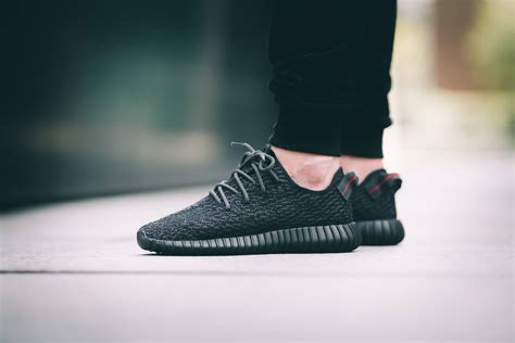 adidas Yeezy 350 Boost Black   The Sole Supplier