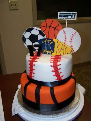 girly gatherings sports cake