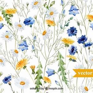 Blumen Bilder Gemalt : hand gemalten blumen download der kostenlosen vektor ~ Orissabook.com Haus und Dekorationen