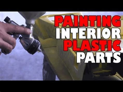 Painting Interior Plastic Parts Youtube