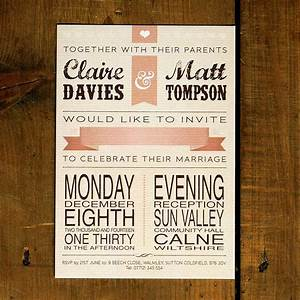 vintage poster wedding invitation by feel good wedding With vintage email wedding invitations