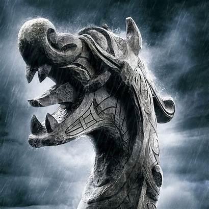 Viking Vikings Norse Wallpapers Drakkar Rune Droid