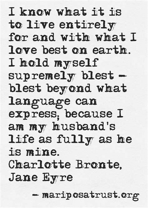 jane eyre romantic quotes quotesgram