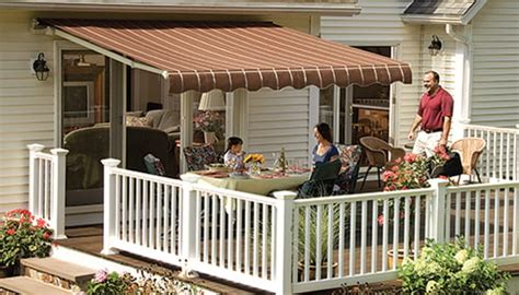sunsetter manual awnings lateral arm awning
