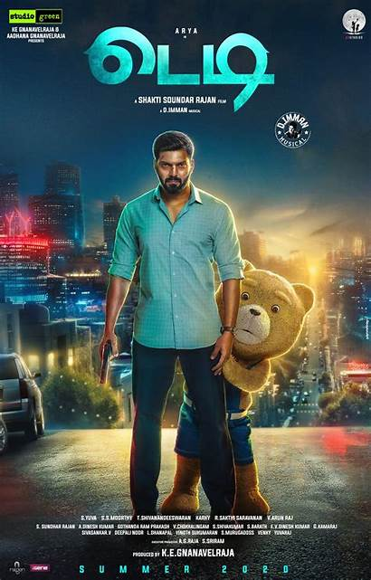 Teddy Movies Poster Tamilrockers Action Ted Arya
