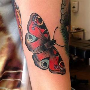 10 best images about tattoo traditional butterfly on ...
